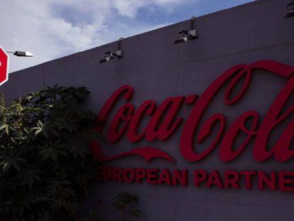 Planta de Coca-Cola European Partners en Málaga.