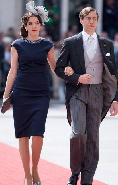 Tessy de Lumxemburgo y su marido Luis.