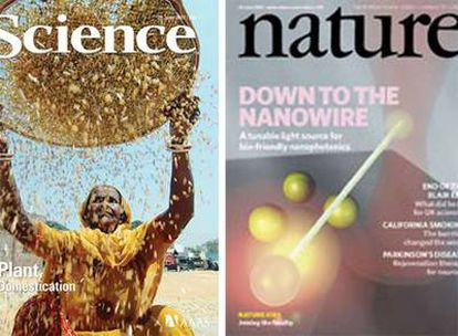 Portadas de 'Science' y 'Nature'