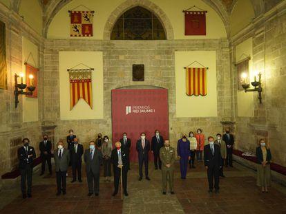 Los jurados de esta edición de los premios Rei Jaume I, que han hecho pública este lunes una declaración institucional sobre la covid.