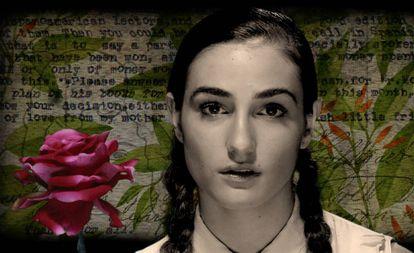 Sandra Escacena, en la piel de Hildegart Rodríguez, en uno de los vídeos de 'Cartasvivas'.