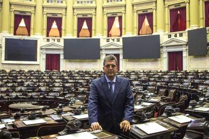 El presidente de la Cámara de Diputados argentina, Sergio Massa, el pasado 20 de enero.