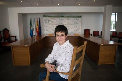 Ánxela Fernandez, alcaldesa de O Rosal (Pontevedra), una de las más jóvenes del BNG.