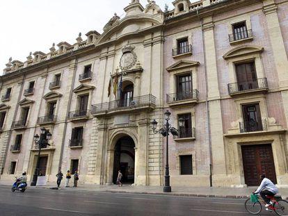 La sede del Tribunal Superior de Justicia de la Comunidad Valenciana.