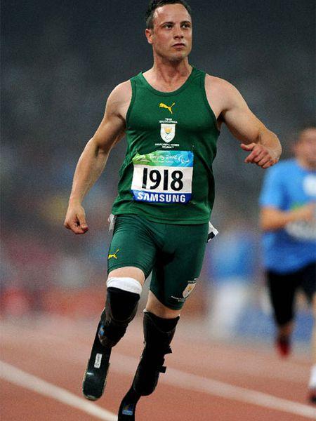 Oscar Pistorius, en l0s Juegos Paralímpicos.