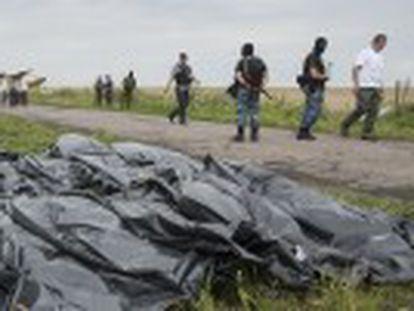 Un informe descarta un fallo técnico del avión que cayó sobre Ucrania y refuerza la tesis de que fue derribado por un misil