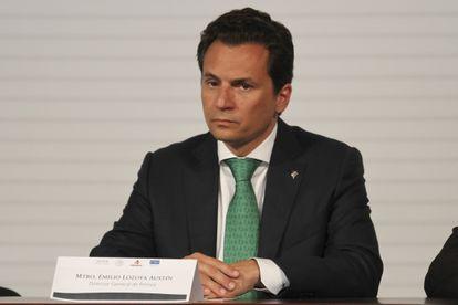 El exdirector de Pemez Emilio Lozoya, en una imagen de archivo.