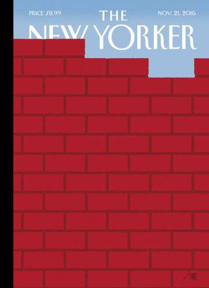 Portada del 'The New Yorker' del próximo 21 de noviembre, de Bob Staake.