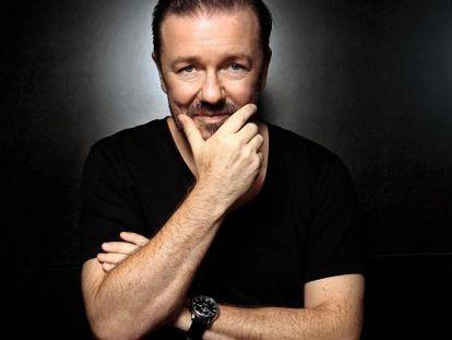 El actor Ricky Gervais.