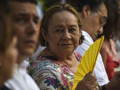 Mercedes Barcha, en Cartagena de Indias, Colombia, en 2014.