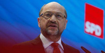 Martin Schulz, candidato socialdemócrata a las últimas elecciones alemanas.