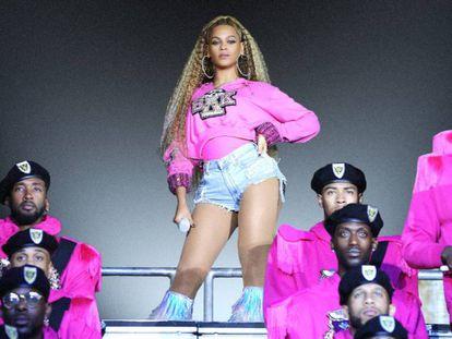 Beyoncé en el documental 'Homecoming'. En vídeo, el tráiler del documental sobre el show en Coachella.