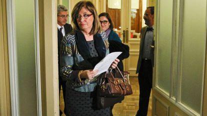 Irene Rigau, consejera de Enseñanza de la Generalitat en una imagen de archivo.