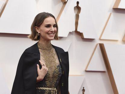 Natalie Portman, en los Oscar de 2020.