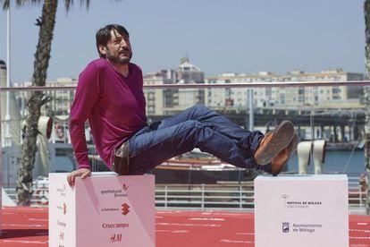 El actor Carmelo Gómez, en el pasado festival de Málaga.