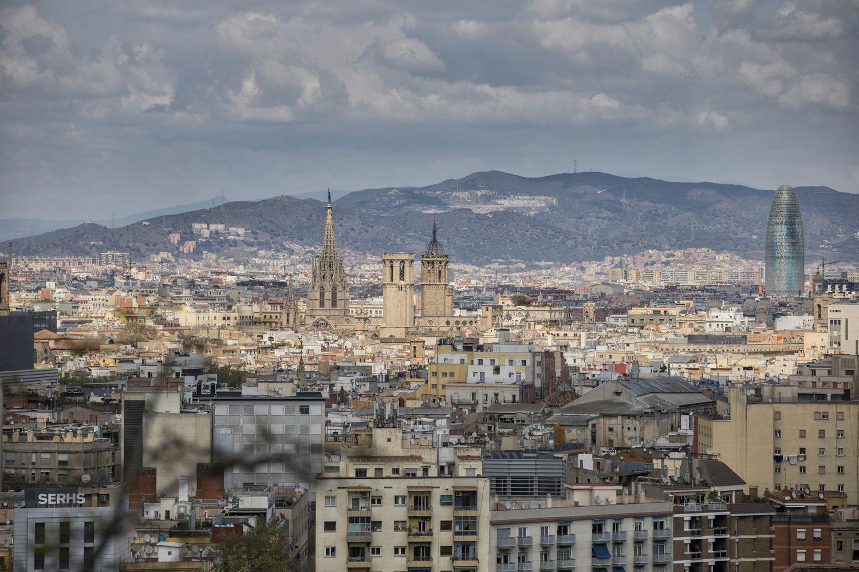 Imagen de Barcelona durante el confinamiento por el coronavirus.