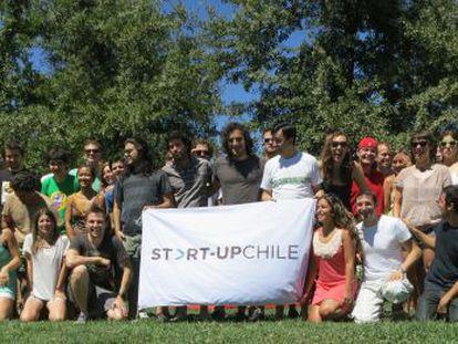 La última promoción de Start Up Chile.