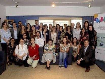 Los ganadores de Viva Lectura 2017.