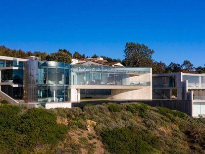 La mansión Razor House, en el barrio de La Jolla (San Diego, California).