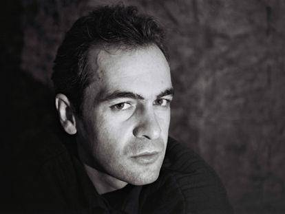 Toño Martín, en una sesión de fotos que se hizo en Briviesca (Burgos), en abril de 1991, un mes antes de morir.