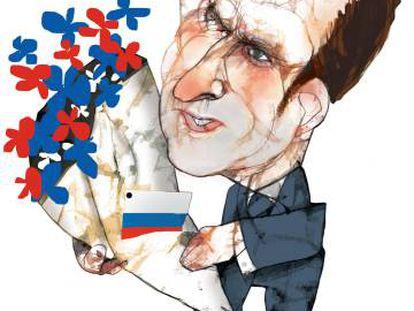 Macron y el ejemplo de Nixon con China