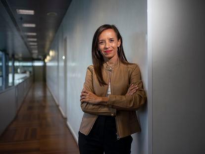 Beatriz Corredor, esta semana en la sede de Red Eléctrica en Madrid.