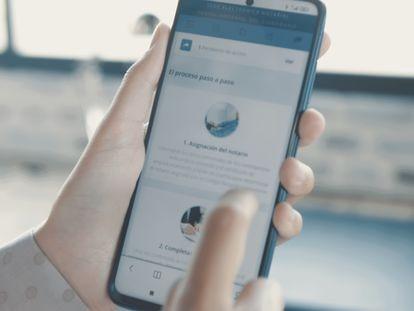 El Portal Notarial de Ciudadano permite elegir notario, concertar una cita con él y realizar de forma telemática diversas gestiones.