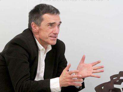 Jonan Fernández, Secretario de Paz y Convivencia del Gobierno vasco.