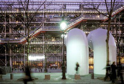 Centre  Pompidou en París.
