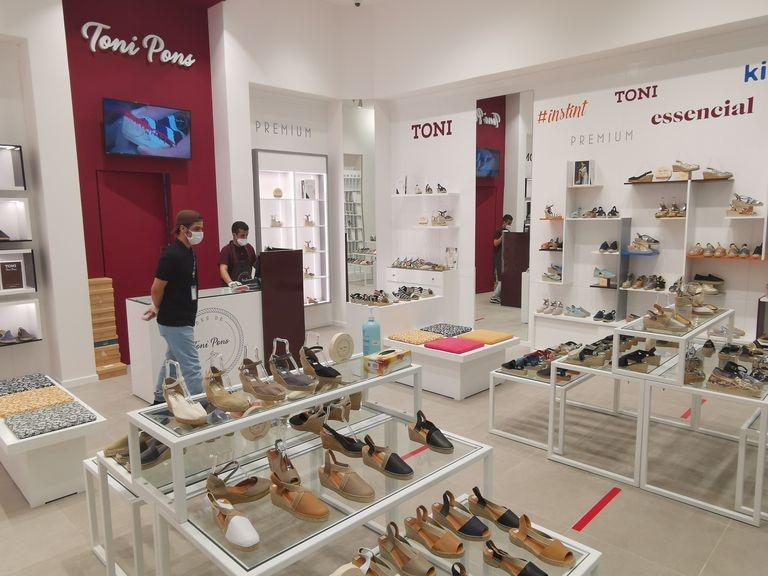 Tienda de la firma familiar de calzados Toni Pons.