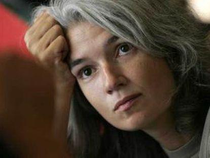 La escritora Belén Gopegui.