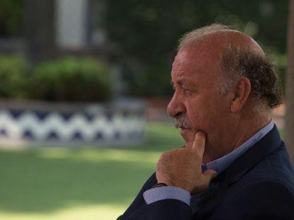 Vicente del Bosque, este miércoles en México DF.