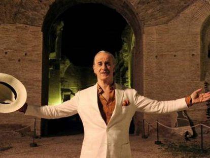 El actor Toni Servillo, como Jep Gambardella en 'La gran belleza'.
