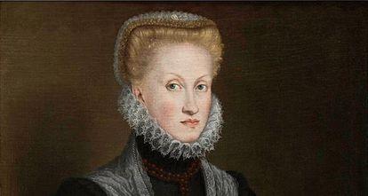 La reina Ana de Austria, por Sofonisba Anguissola.