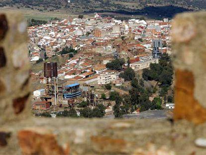 Vista general de Almadén (Ciudad Real), la cuarta localidad más barata para comprar una casa según Idealista, en una imagen de archivo.