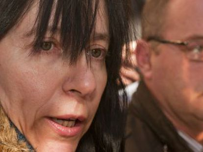 Eva Casanueva y Antonio del Castillo, padres de la menor Marta del Castillo asesinada en 2009.