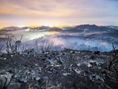 El calentamiento y los cambios del uso del suelo incrementarán el riesgo de grandes incendios forestales, como el de la semana pasada en California.
