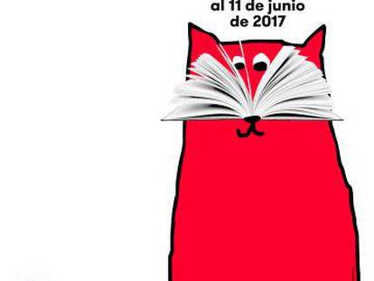 Cartel de la 67ª Feria del Libro de Madrid.
