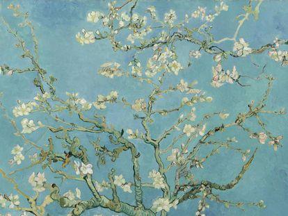 'Almendro en flor' (1890), lienzo de Vincent van Gogh.