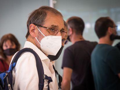 Jose Antonio Urrutikoetxea, 'Josu Ternera', el pasado 15 de junio en el Palacio de Justicia de París.