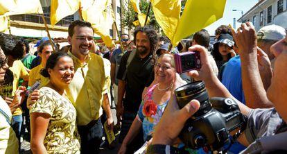 Jose Maria Villalta es el candidato de la izquierda.