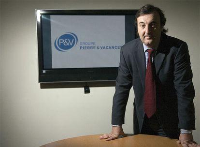 José María Pont, nuevo presidente del grupo francés Pierre & Vacances (P&V).