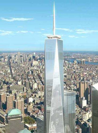 Maqueta de la Freedom Tower de Nueva York, proyecto de Daniel Libeskind.