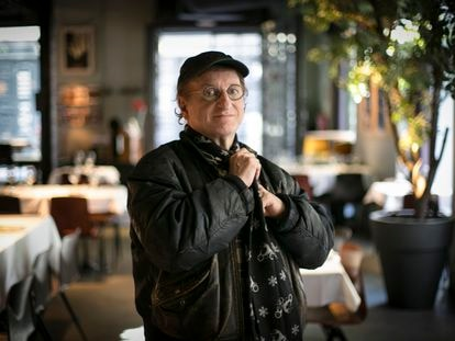 Javier Gurruchaga, en Madrid.