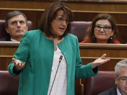 Soraya Rodríquez, en el Congreso de los Diputados.