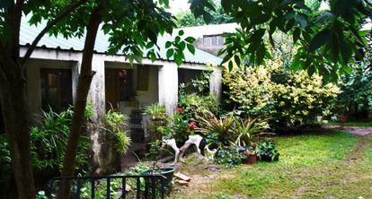 Vista exterior de la casa de José Mujica.