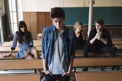 Actores principales de la película. De izquierda a derecha Lucía Ramos, Javier Butler, Alejandra Onieva y Nicolás Coronado.