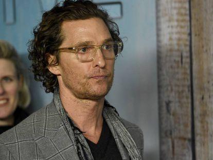 El actor Matthew McConaughey en Los Ángeles, el pasado enero.