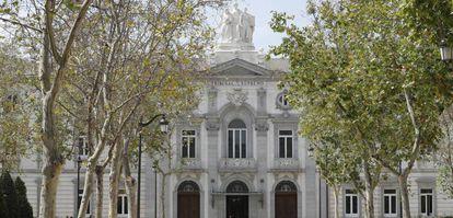 Sede del Tribunal Supremo, en Madrid, en una imagen de archivo