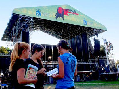 Uno de los días previos al Empower Music Fest.